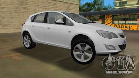 Opel Astra 2011 para GTA Vice City deixou vista