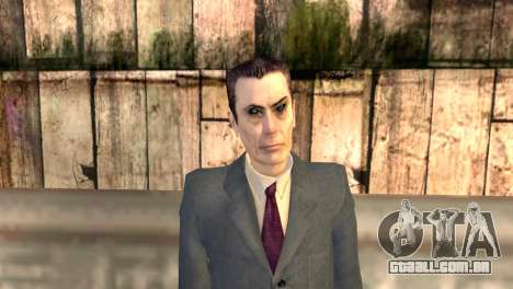 JI-homem de Half-Life 2 para GTA San Andreas terceira tela