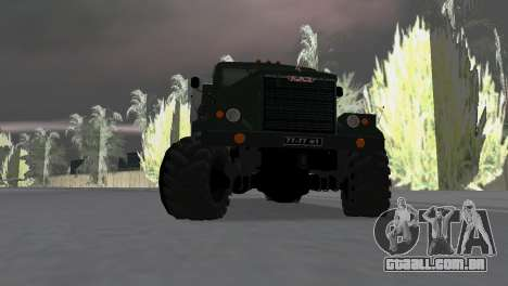 KrAZ 257 para GTA Vice City vista direita