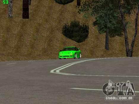 Nissan 240SX Drift Version para GTA San Andreas vista traseira