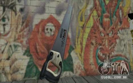 Serra madeira para GTA San Andreas segunda tela