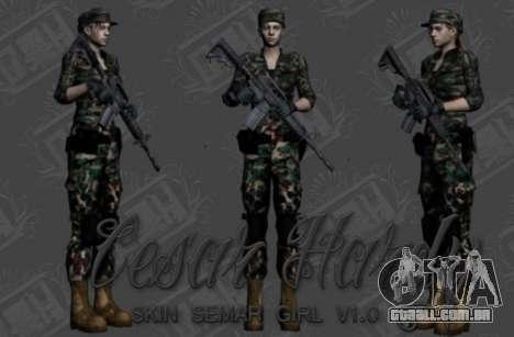 Pak peles de meninas para GTA San Andreas sexta tela