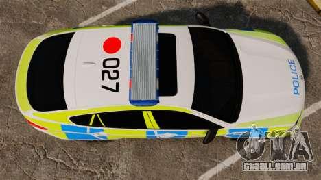 BMW X6 Lancashire Police [ELS] para GTA 4 vista direita