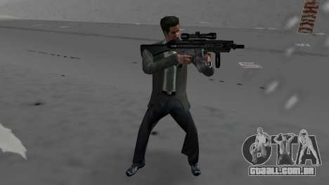 Custom MP5 para GTA Vice City