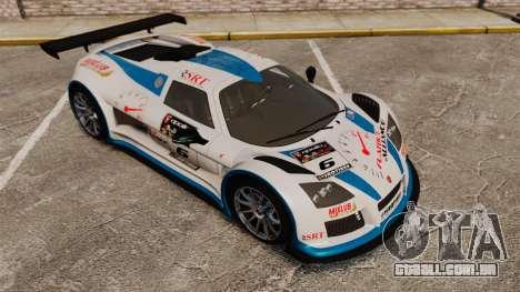 Gumpert Apollo S 2011 para GTA 4 motor
