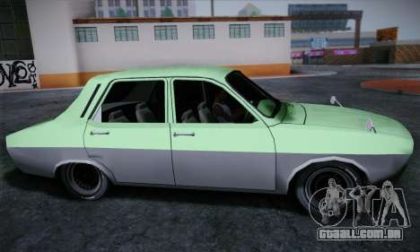 Dacia 1300 Retro Art para GTA San Andreas traseira esquerda vista