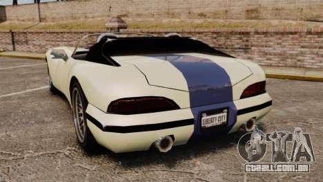GTA SA Banshee para GTA 4 traseira esquerda vista