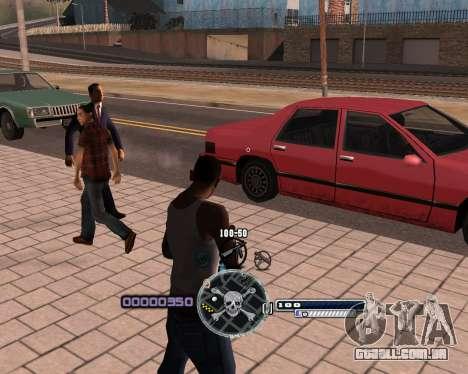 C-HUD by Niko para GTA San Andreas segunda tela