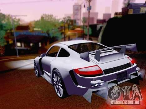 Porsche Carrera S para GTA San Andreas vista traseira