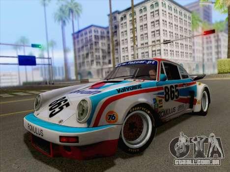 Porsche 911 RSR 3.3 skinpack 3 para GTA San Andreas vista direita
