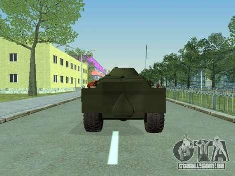 BRDM 2 para GTA San Andreas vista direita