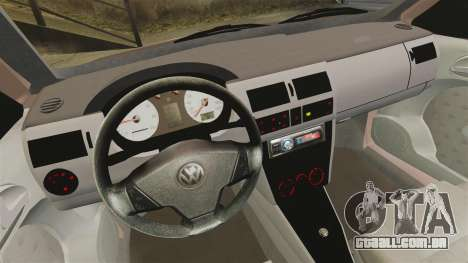Volkswagen Saveiro G3 SuperSurf para GTA 4 vista de volta