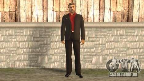 Chefe da máfia para GTA San Andreas