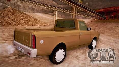 Ikco Paykan Pickup para GTA San Andreas esquerda vista