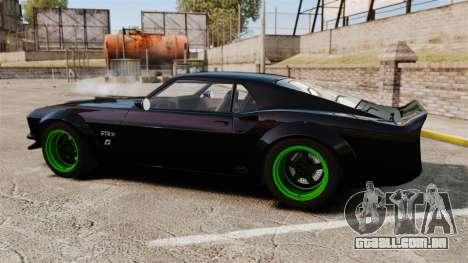 Ford Mustang RTRX para GTA 4 esquerda vista