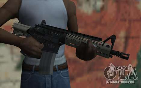 VLTOR SBR 5.56 no Sight para GTA San Andreas terceira tela