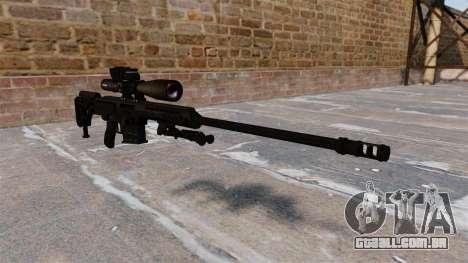 Rifle Barret 98B para GTA 4