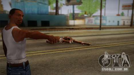 Colt Peacemaker (Rusty) para GTA San Andreas segunda tela