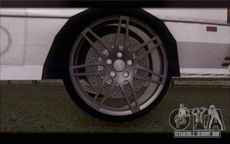 Audi S1 Quattro para GTA San Andreas traseira esquerda vista