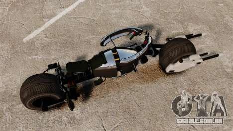 Bètmotocikl Bètpod para GTA 4 traseira esquerda vista