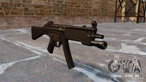 Pistola-metralhadora HK MP5 para GTA 4