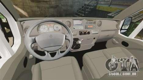 Renault Master French Red Cross [ELS] para GTA 4 vista de volta