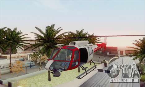 GTA V Ambulacia Maverick para GTA San Andreas vista superior