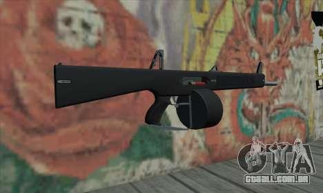 AA-12 para GTA San Andreas segunda tela