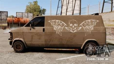 GTA IV TLAD Gang Burrito para GTA 4 esquerda vista
