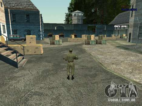 Lutador no ar para GTA San Andreas terceira tela