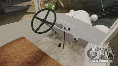 Gaz-AA ambulância para GTA 4 vista de volta