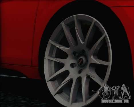 Volkswagen Golf Mk6 para GTA San Andreas traseira esquerda vista