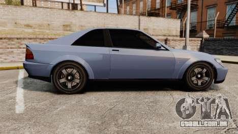 Sultan Coupe para GTA 4 esquerda vista