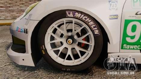 Porsche 911 (991) RSR para GTA 4 vista de volta