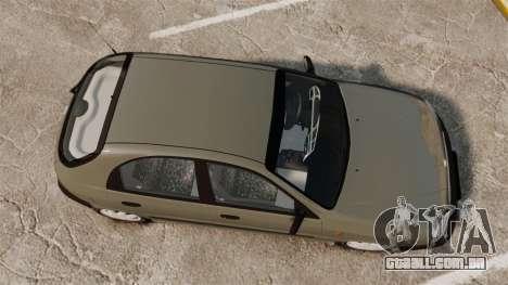Daewoo Lanos S PL 2001 para GTA 4 vista direita