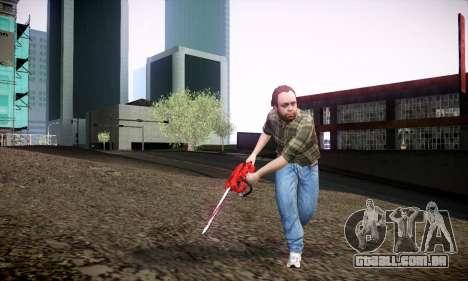 Lester de GTA V para GTA San Andreas por diante tela