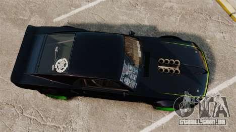 Ford Mustang RTRX para GTA 4 vista direita