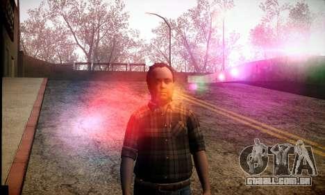Lester de GTA V para GTA San Andreas segunda tela