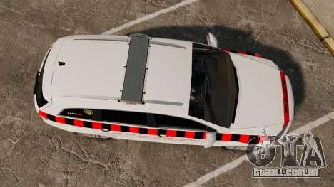 Audi Q7 Enforcer [ELS] para GTA 4 vista direita