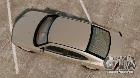 Dodge Charger SE 2006 para GTA 4 vista direita
