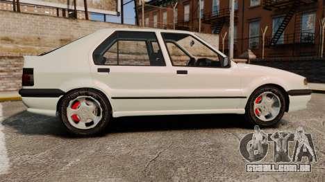 Renault 19 Europa para GTA 4 esquerda vista