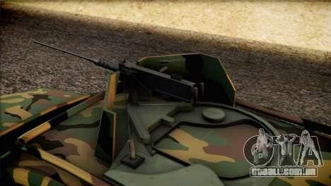 Dacia Duster Army Skin 2 para GTA San Andreas vista traseira