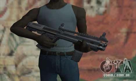 KSG12 para GTA San Andreas terceira tela