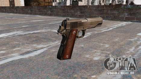 Colt M1911 pistola para GTA 4 segundo screenshot