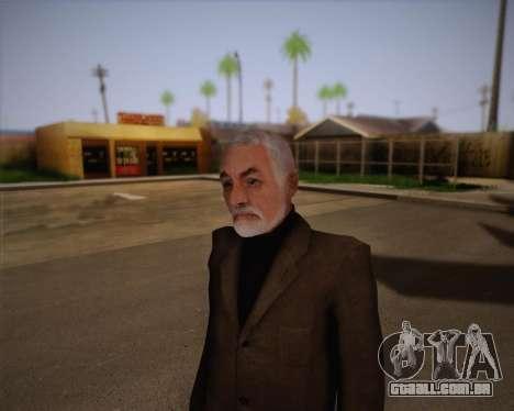 Dr. Breen para GTA San Andreas terceira tela