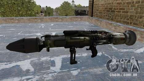 Lançador de granadas anti-tanque Crysis 2 para GTA 4 terceira tela