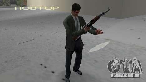 Kalashnikov para GTA Vice City segunda tela