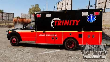 Landstalker L-350 Trinity EMS Ambulance [ELS] para GTA 4 esquerda vista