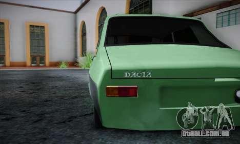 Dacia 1300 Retro Art para GTA San Andreas vista direita