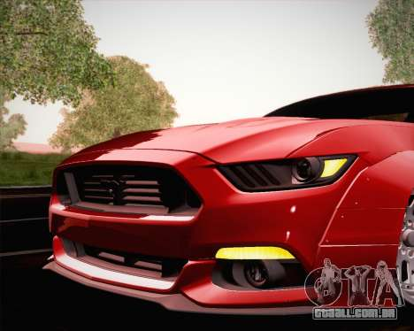 Ford Mustang Rocket Bunny 2015 para as rodas de GTA San Andreas